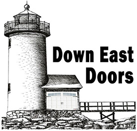 Down East Doors logo